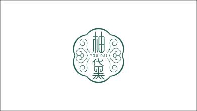 柚黛古風彩妝LOGO設計