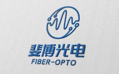 斐博光电logo设计