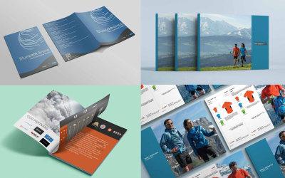 画册,物料设计,宣传册设计