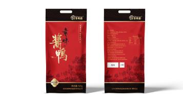 京香鸭韵酱鸭包装设计