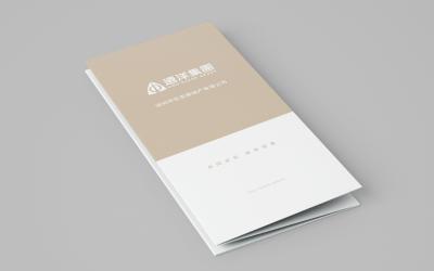 遠洋集團地產項目畫冊設計制作