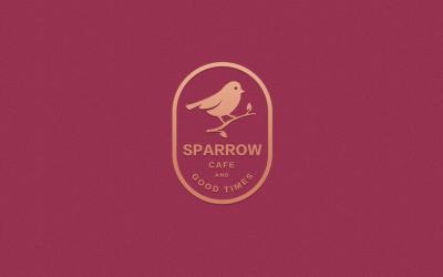 红雀咖啡品牌logo设计