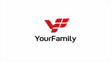 YourFamily基金投资平台LOGO设计