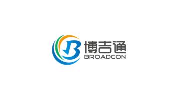 博吉通电子元器件贸易品牌LOGO设计