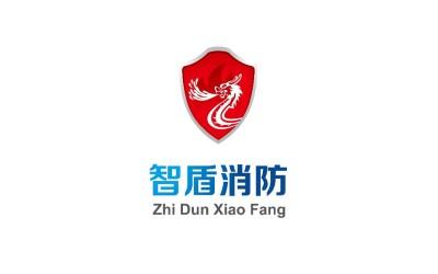 智盾消防logo設計