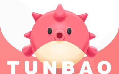 吉祥物设计-豚宝