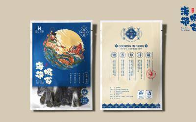 霞浦特产-海带嫩苗包装设计