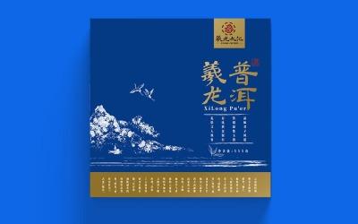 曦龙文化普洱茶包装设计