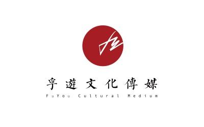 浮游文化传媒logo设计