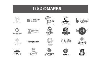 logo丨标志设计集,给自己的小结
