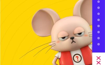 卡通吉祥物 IP設計 - 鼠年...