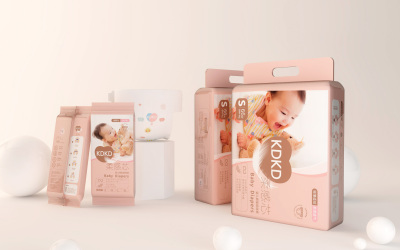 KDKD婴儿纸尿裤包装设计