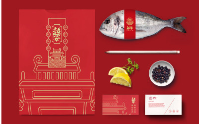 越资海鲜火锅餐厅品牌LOGO