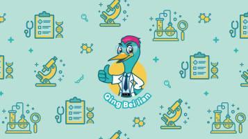 健尔康医疗儿童口罩图案设计