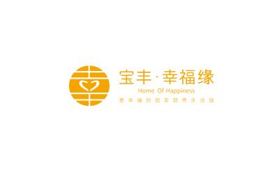 寶豐集團幸福緣logo設計