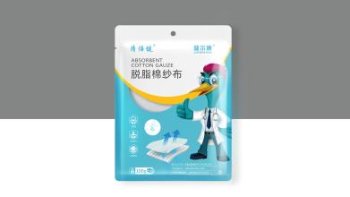 健尔康医用产品包装设计