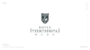 博艺国际美容培训行业LOGO设计