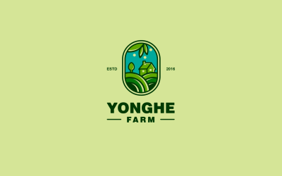 YONGHE农贸商贸LOGO设计