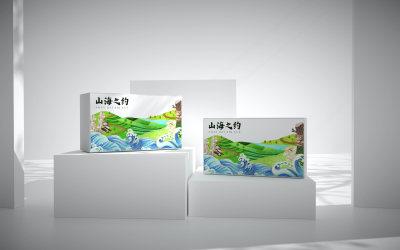 干菌花膠禮盒包裝