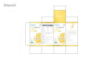 仅益DHA藻油包装延展设计