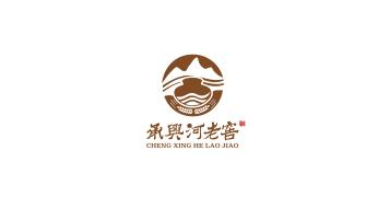 承兴河老窖白酒品牌LOGO设计