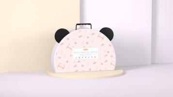 TETE熊猫元素包装设计