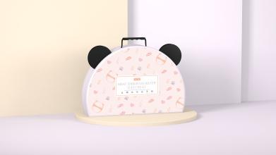 TETE熊貓元素包裝設計
