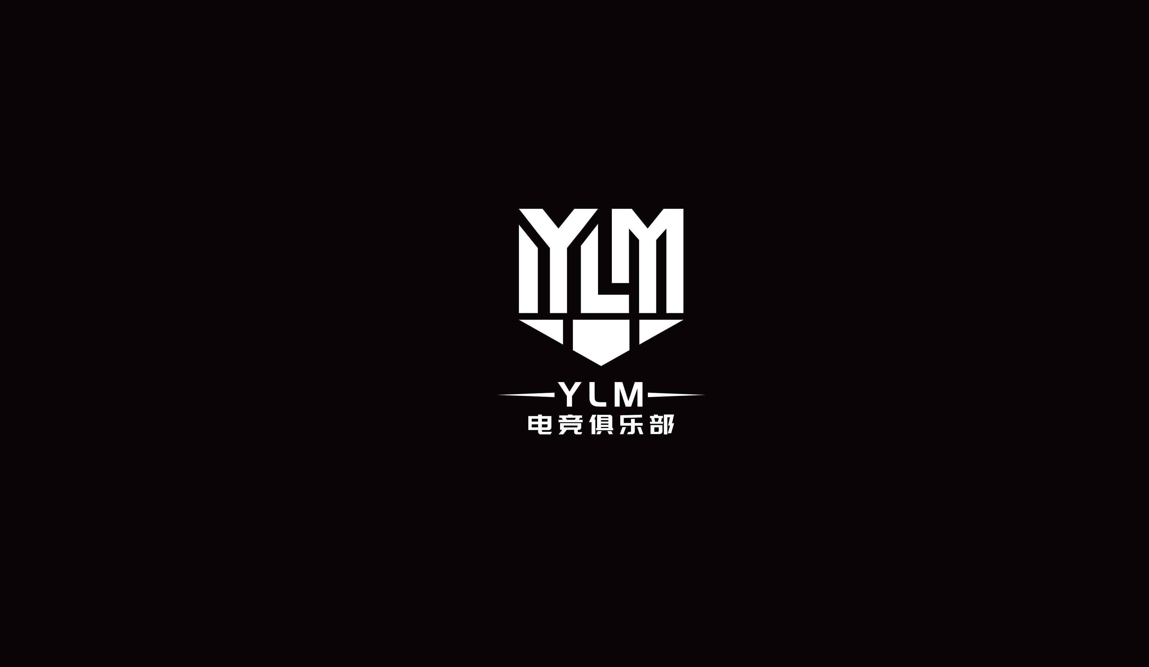 YLM电竞俱乐部电竞类LOGO设计