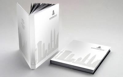 电白建筑工程公司画册设计
