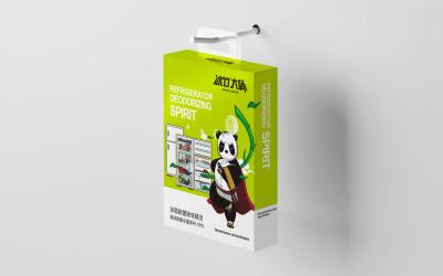 冰箱除菌除味精灵包装设计