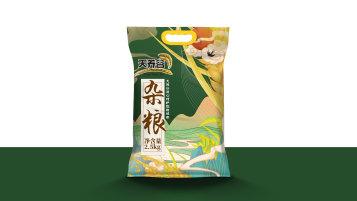 天养谷食品包装设计