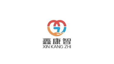 鑫康智医疗科技品牌LOGO设计