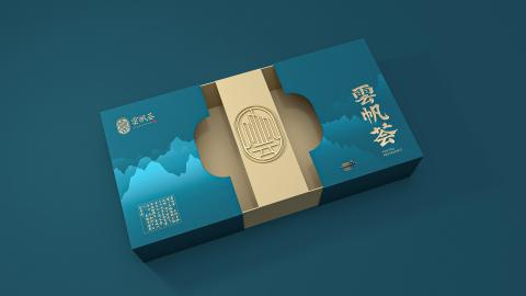 高端餐廳品牌禮盒包裝設計+手提袋延展設計