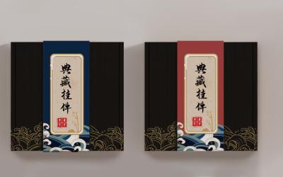 联名日式徽章包装系列设计