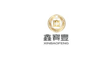 鑫宝丰食品贸易LOGO设计