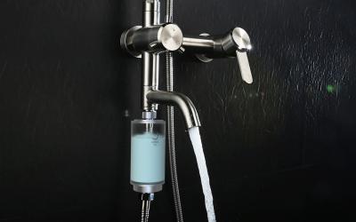 纯悦净水器花洒净水器设计