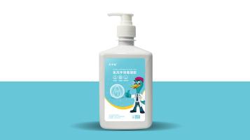 健尔康免洗手消毒凝胶包装设计