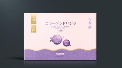 艾尚俪胶原蛋白饮品包装设计