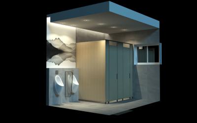 公共厕所建筑外观及室内设计