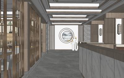 新中式茶楼设计