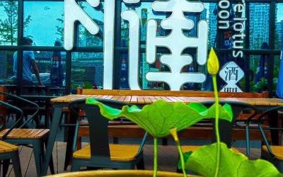 乐山青莲酒吧设计实景