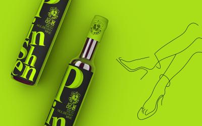 果酒饮料包装设计