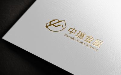中瑞金服logo設計