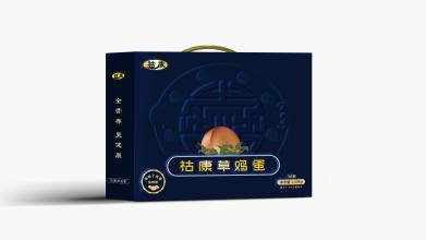 祜康鸡蛋礼盒包装设计