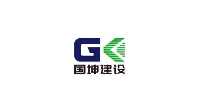 国坤建设电力工程类LOGO设计