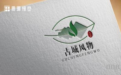 古城风物包装logo设计