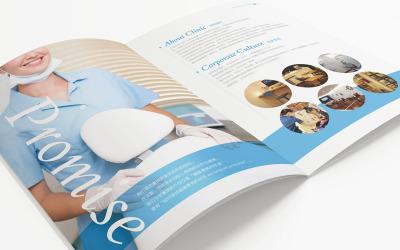口腔医疗画册设计