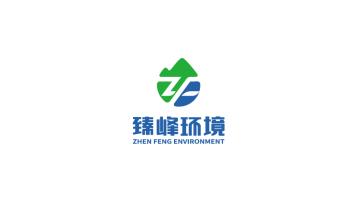 臻峰环境科技品牌LOGO设计