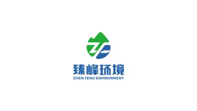 臻峰環境科技品牌LOGO設計