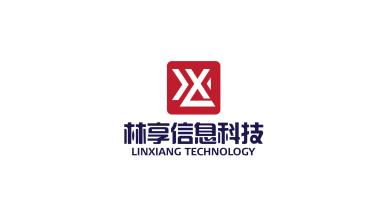 林享信息科技物联网业LOGO设计